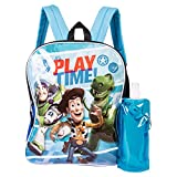 Toy Story Backpack Combo Set - Disney Toy Story Boys' 3 Piece Backpack Set