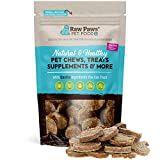 Raw Paws Real Meat Venison Jerky Dog Treats, 6-oz - Packed in USA - Free-Range, No Antibiotics or Added Hormones Venison Dog Jerky Treats - All-Natural, Grain, Corn & Soy Free Venison Dog Treats