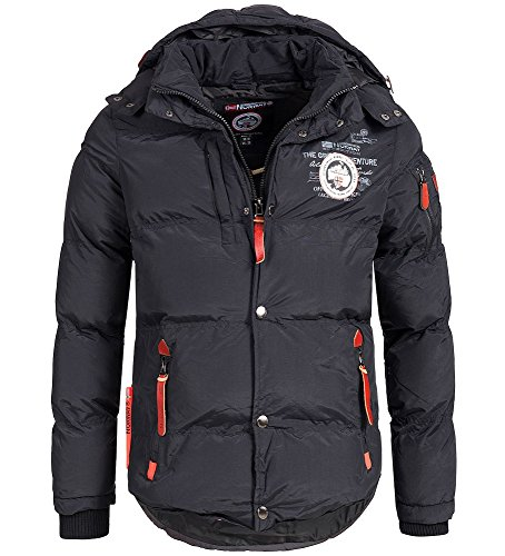 Geographical Norway Chaqueta acolchada de invierno para hombre, con...