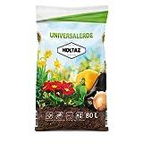 Holtaz Terriccio Universale 80 lt Terra per Piante per Tutti Gli Usi Terreno Organico Ortaggi Fiori Piante con Fertilizzante Organico e Miscela di Micronutrienti Crescita Intensiva delle Piante