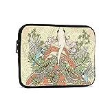 Floral Skull Art 9.7'Tablets Sleeve Bags Funda Protectora de poliéster para iPad Air 2 / iPad Mini 7.9' Case Pouch