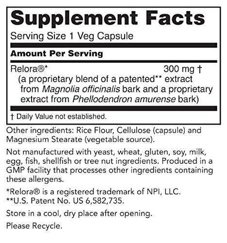 Nutriworth Relora - Clinically Validated - Stress & Weight Management Supplement. Promotes Balanced Cortisol & DHEA Production. 3 - My Weight Loss Today