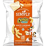 Cheetos Simply White Cheddar Puffs 1.25 ounces (Pack of 64)