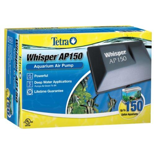 Tetra Whisper AP150 Aquarium Air Pump, For Deep Water
