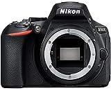 Nikon D5600 24 MP DX-Format Full HD 1080p Digital SLR Camera Body 1575B - Black (Renewed)
