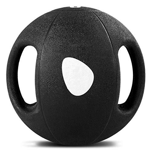 COSTWAY Balón Medicinal de Ejercicio Gimnasia Yoga de Goma...