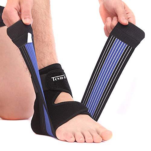 Supporto per Caviglia Elastica Sportiva Cavigliera Traspirante Regolabile per Sport Dolori Articolari Distorsioni Affaticamento per Uomini e Donne