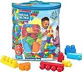 Mega Bloks First Builders Big Building Bag with Big Building Blocks, Building Toys for Toddlers (80...