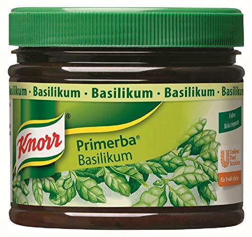 Knorr Primerba Kräuter in Öl Basilikum, 1er Pack (1 x 340 g)