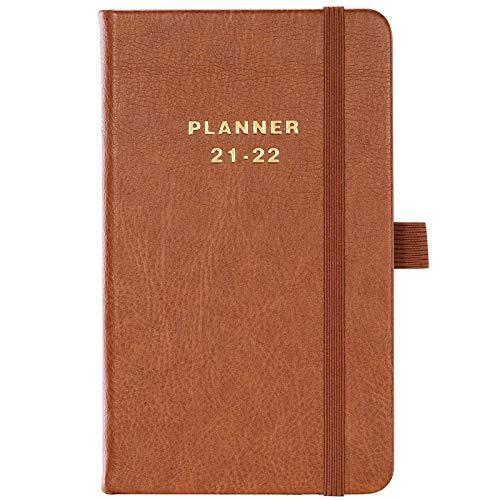 Agenda de bolsillo, 2021 Agenda semanal a6, 12 meses, 16x10cm