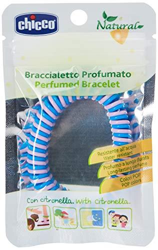 Chicco Bracelet en plastique au parfum de citronnelle, protection 100 %...