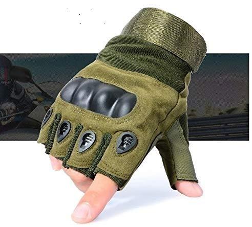 serveuttam Leosportz Gym Rubber Padded Gloves for Men Women Workout   Weight Lifting Straps for...
