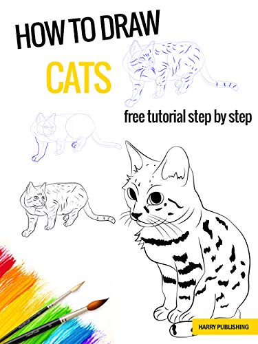 How To Draw Cats Step By Step Drawing Kindle Edition By Wambi Bobby Arts Photography Kindle Ebooks Amazon Com