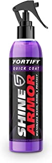 SHINE ARMOR Fortify Quick Coat – Ceramic Coating – Car Wax Polish Spray..