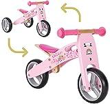 BIKESTAR Vélo Draisienne Enfants et Tricycle en Bois pour Garcons et Filles de...