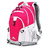 High Sierra Loop Backpack, Pink Punch/White/Ash, 19 x 13.5 x 8.5-Inch