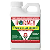 Hormex Vitamin B1 Rooting Hormone Concentrate   Prevents Transplant Shock   Accelerates Growth   Stimulates Roots   for All Plant Varieties and Grow Mediums Including Hydroponics (8 oz)