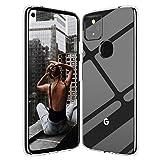 Google Pixel 4a 5G Clear Case Slim Thin Silicone Soft Skin Phone Cases Flexible TPU Lightweight Gel...