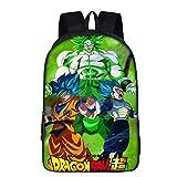 Mochila Dragon Ball Goku, Dragon Ball Mochila Niño Adolescente Chicas Primaria Mochilas y Bolsas Escolares Mochila Dragon Ball Super Impresión Juvenil Bolsa Infantil (7)