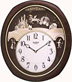 Rhythm Clocks 'Princess Fantasy' Musical Motion Clock
