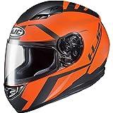 HJC CS-R3 Helmet - Faren (Large) (Black/Orange)