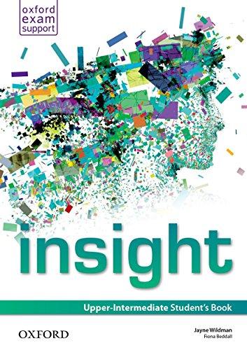 Insight Upper-Intermediate. Student's Book