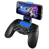 Manettes sans fil Android, PowerLead Manettes Bluetooth sans fil pour IOS et...