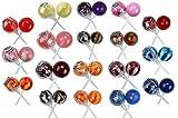 Original Gourmet Lollipops, Original and Cream Swirl Medley, 60 Count, 1.1 Ounce