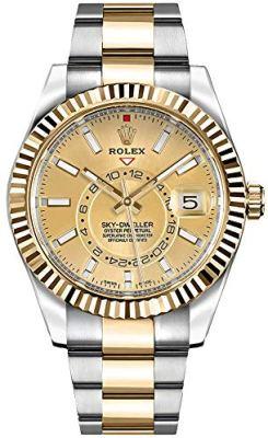 326933 - Rolex Sky-Dweller Gold & Steel Mens Watch