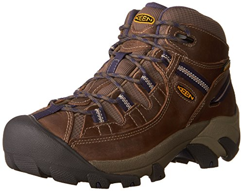 KEEN Women's Targhee II MID WP-W Hiking Boot, goat/crown...