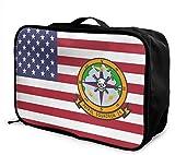 Bolsa de Viaje,Plegable Ligero Bolso Equipaje, US Navy Patrol Squadron 26 Travel Lightweight Waterproof Foldable Storage Carry Luggage Duffle Tote Bag