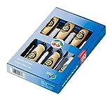 Kirschen 1111000 Firmer Chisel Set with Hornbeam Handles