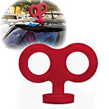 COGEEK Car Decoration Big Clockwork Toys Car Styling for Smart Mini Beetle (red)