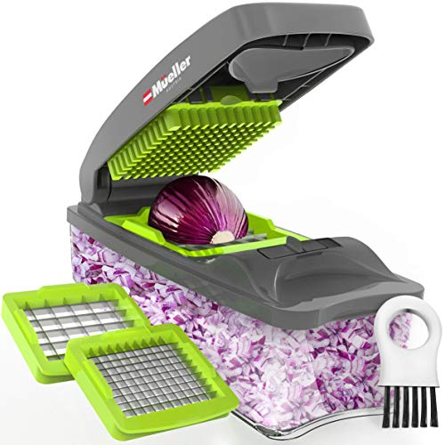 Mueller Onion Chopper Pro Vegetable Chopper - Strongest - NO MORE TEARS 30%