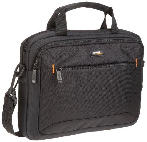 AmazonBasics - Borsa a tracolla per laptop, iPad e tablet da 11,6'' (29,4 cm), nero, confezione da 1