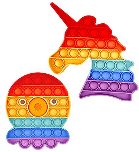 Philicoco de Juguetes Push Pop Bubble Fidget,Juguetes Sensor