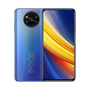 "POCO X3 Pro Smartphone RAM 6 GB ROM 128 GB 120 Hz 6,67""FHD + LCD DotDisplay Qualcomm® SnapdraGBnTM 860, 5160mAh (typ) Batterie 48MP Appareil Photo Bleu [Version Mondiale]"