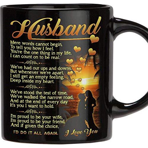 TERAVEX Gift for Husband - 11 Oz Novelty Ceramic Coffee Mug,...