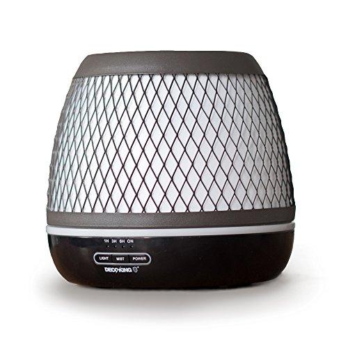 DecoKing Aroma Diffuser 500 ml Duftöldiffusor Timer Luftbefeuchter Vernebler Elektrische Duftlampe Diffusor Aromatherapie Drum