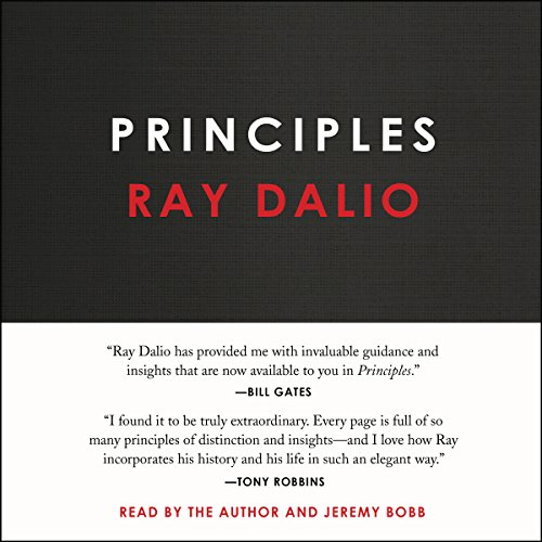 Principles audiobook cover art