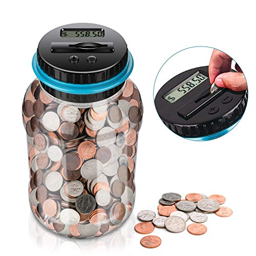 51UzCqn1rmL - The 7 Best Adult Piggy Banks That Make Your Loose Change Really Count