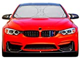 A1 Sun Shade for Car Windshield with Storage Pouch - Highly Durable 210T Nylon Foldable Car Window...