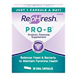 RepHresh Pro-B Probiotic Feminine Supplement - 30 ea (Pack of 2)