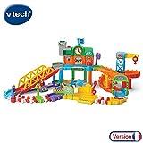 VTech - Tchou Tchou Bolides - Maxi circuit train twist - Circuit de train interactif (521205)