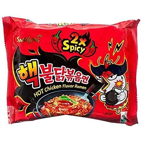 韓国で人気の激辛袋麺【ヘッブルダック炒め麺5食入】