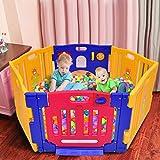 Costzon Baby Playpen, Kids 6...
