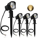【4 Pack 7W】Spot LED Exterieur, CLY Spot LED à Terrasse et Patio, Lampe...