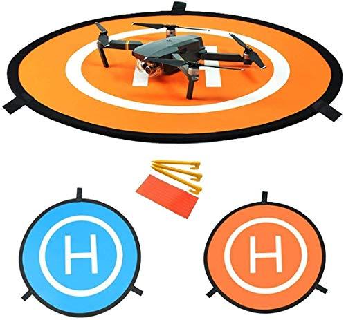 Flycoo 110 Centimetri 43 Pollici Drone Landing Pad Pieghevole Elicottero atterraggio parcheggio Grembiule Pieghevole eliporto Dronepad Launch Mat per DJI Mavic PRO / Spark / Phantom / Inspire ECC