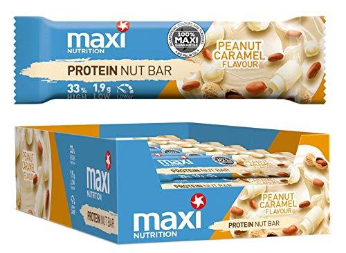 MaxiNutrition Protein Nut Bar - weiße...