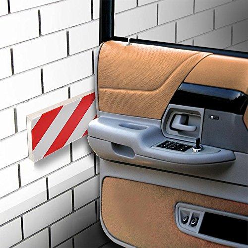 Craft-Equip Autotür Schutzleisten Wandpuffer Türkantschutz Türschoner Garage KFZ